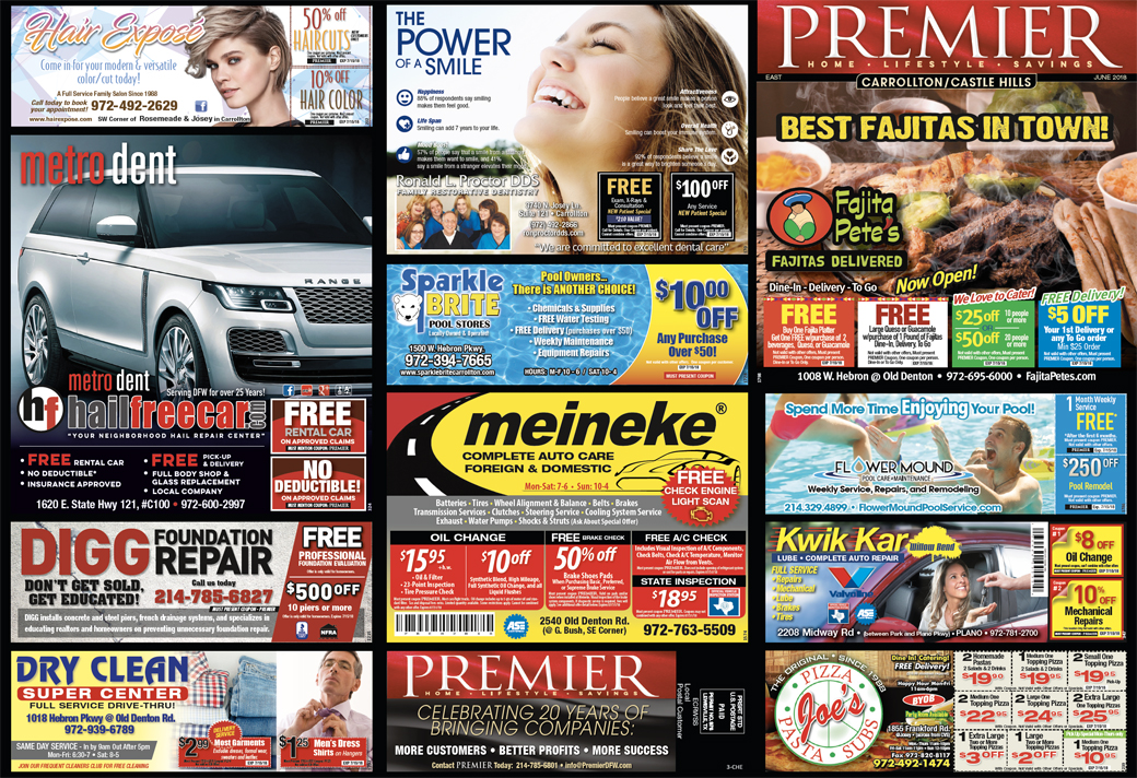 Print Advertising - Castle Hills East, side 1