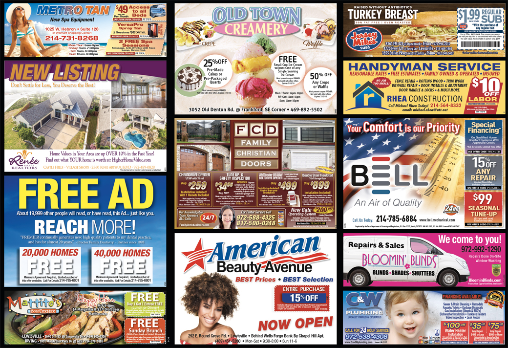 Print Advertising - Castle Hills East, side 2