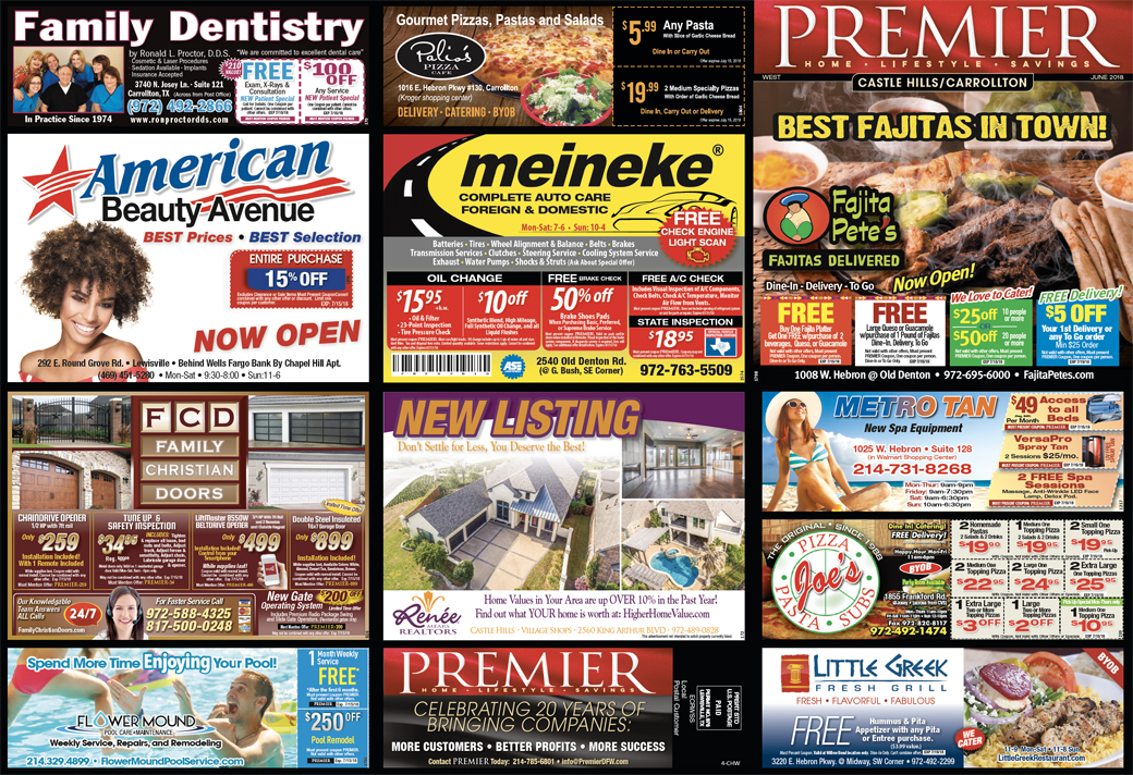 Print Advertising - Castle Hills West, side 1