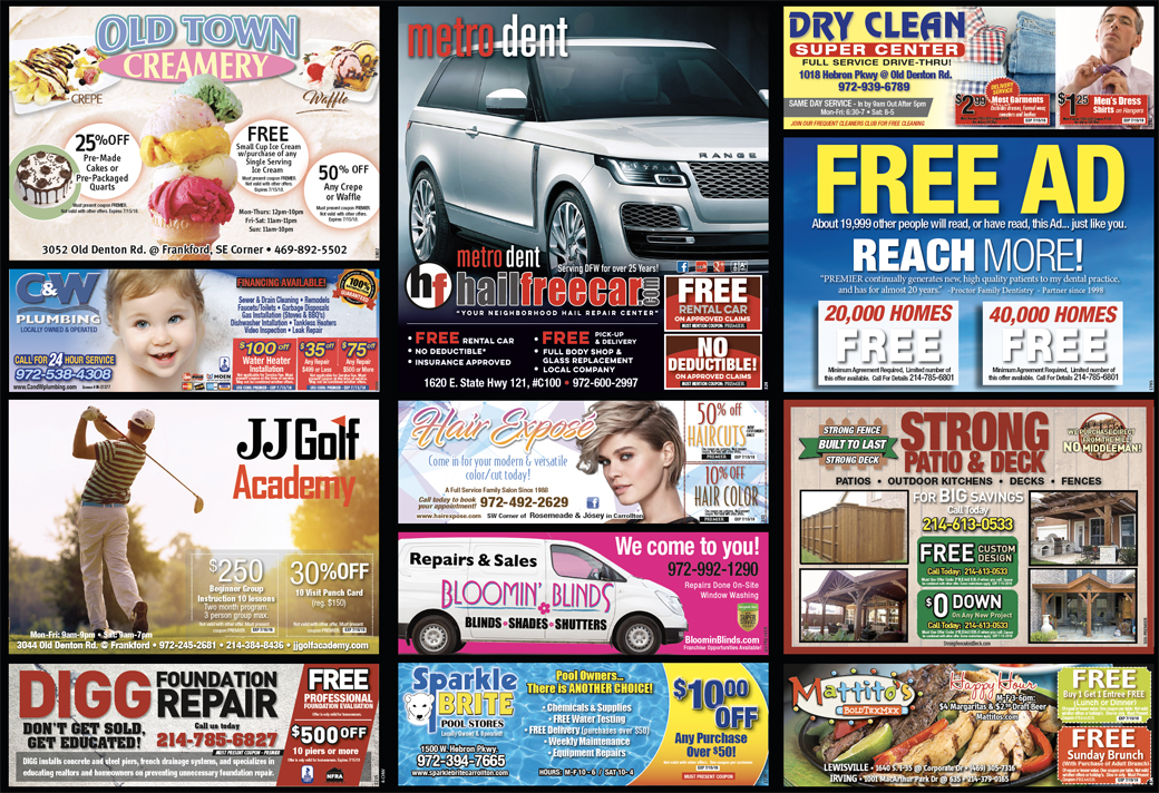 Print Advertising - Castle Hills West, side 2