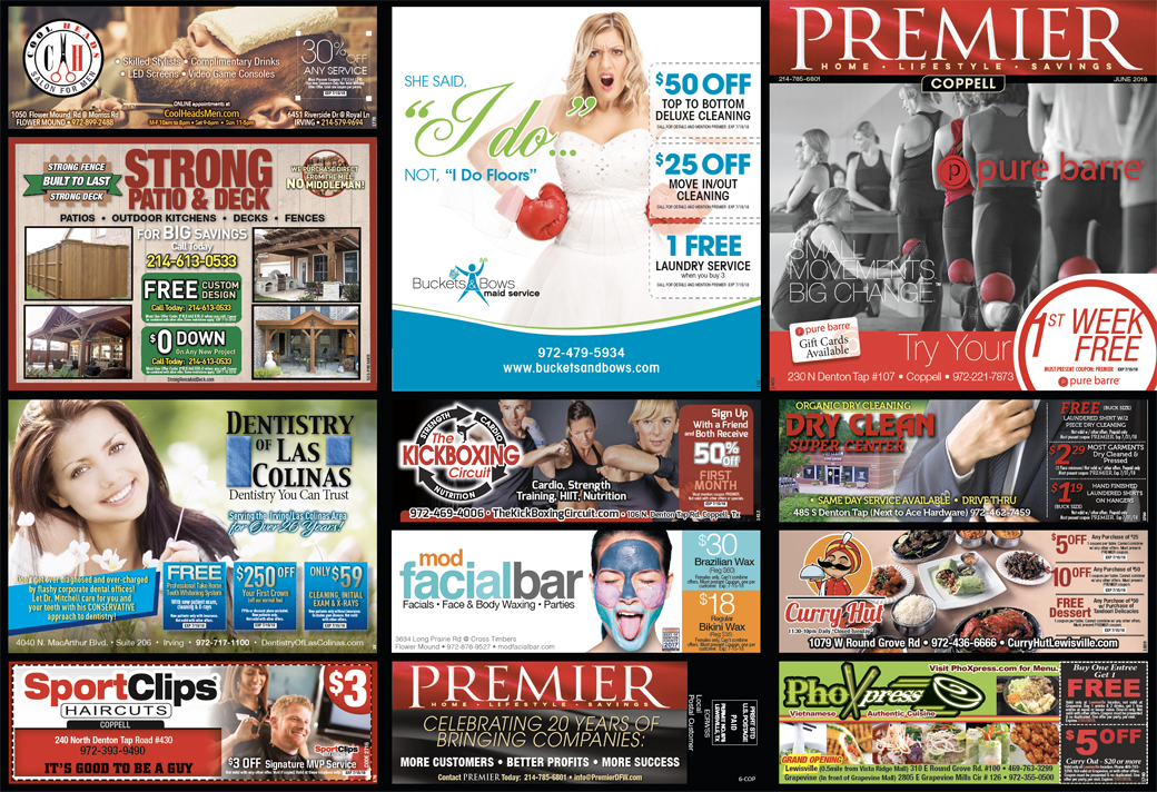 Print Advertising - Coppell, side 1