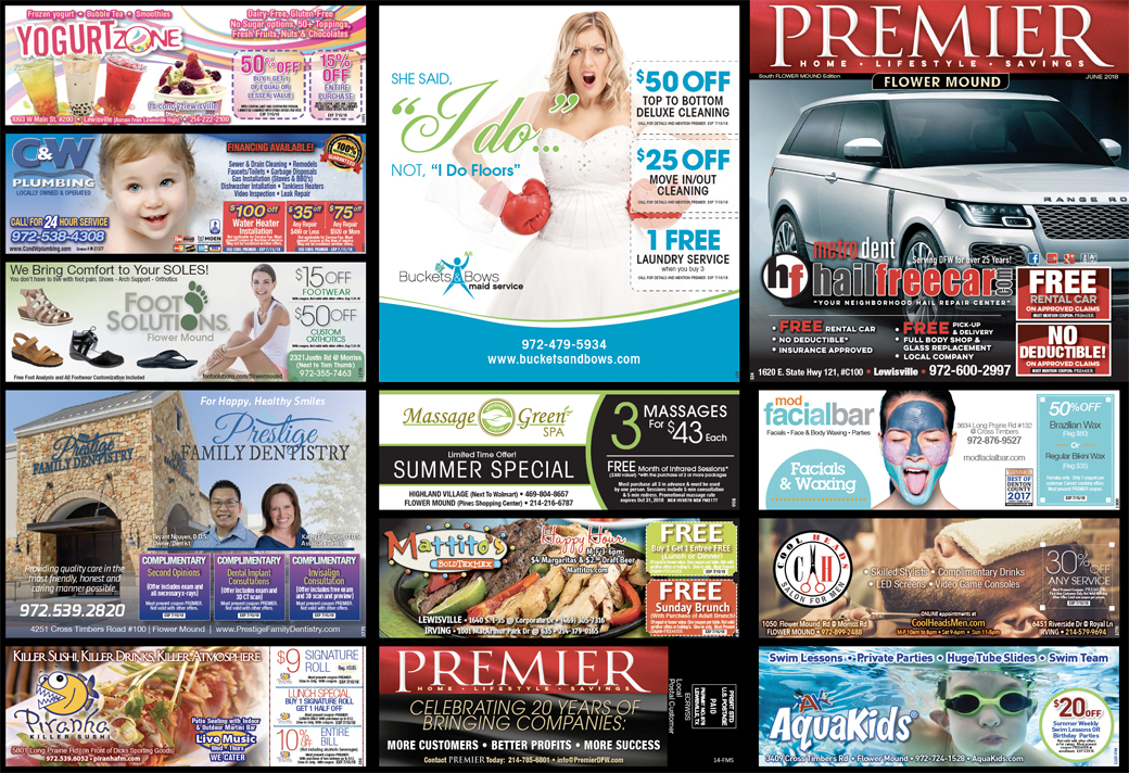 Print Mailers - Flower Mound South side 1