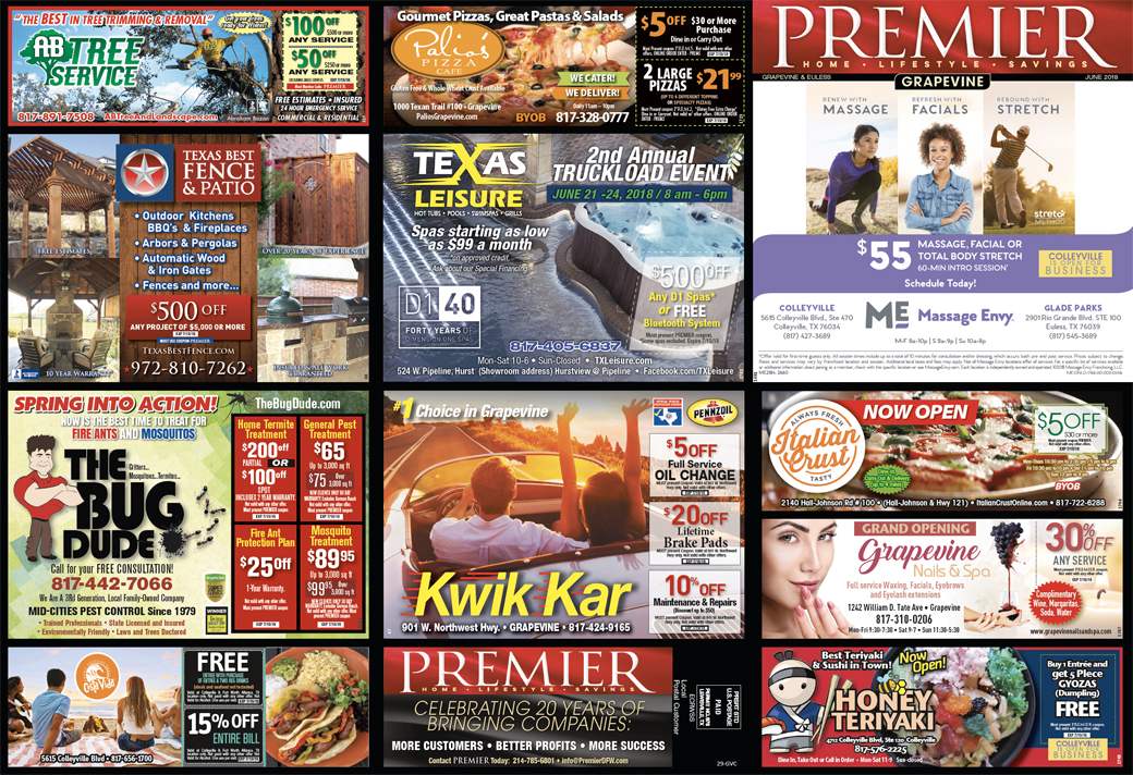 Print Advertising - Grapevine-Colleyville, Side 1