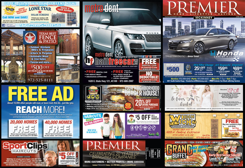 Print Advertising - Central McKinney - Side 1