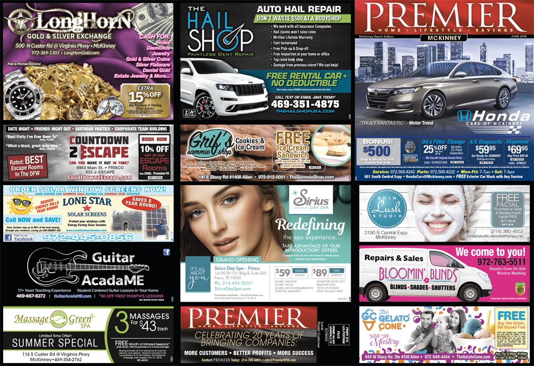 Print Advertising - Southwest McKinney - Side 1