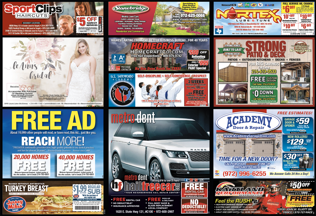 Print Advertising - Southwest McKinney - Side 2