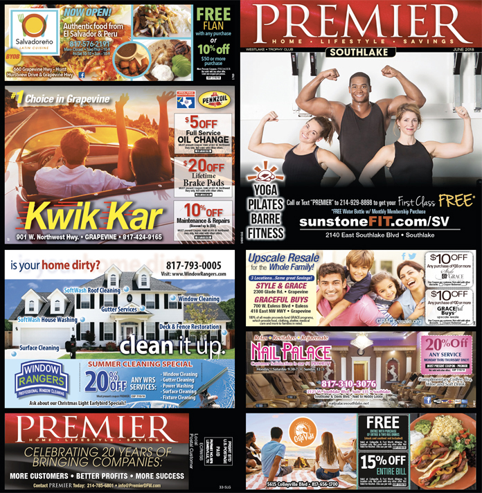 Print Advertising - Southlake-Grapevine, Side 1