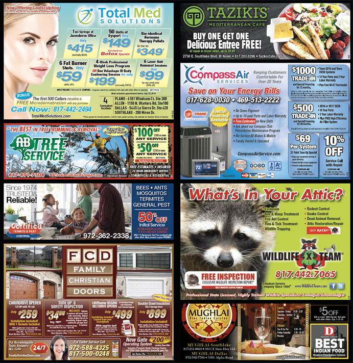 Print Advertising - Southlake-Grapevine, Side 2